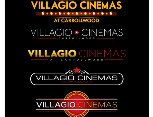 Client Archive : Villagio Cinemas : Logo Design and Branding, Website Development, Building Photography