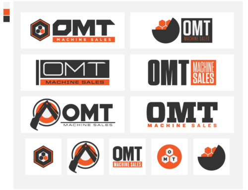 Client Archive : OMT Machine Sales : Online Sales Development, Branding, Logo Design, Web Development, Marketing