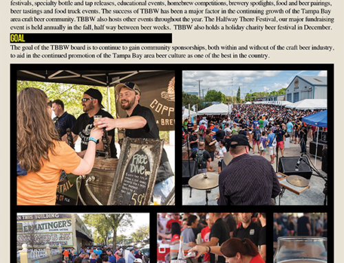 Client Archive: Tampa Bay Beer Week : Graphic Design, Branding, Consulting